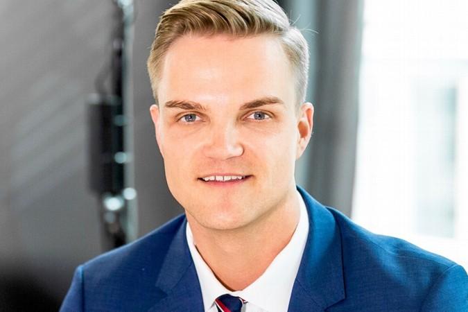 Börsenmoderator Manuel Koch